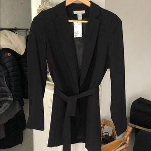 H&M jacket! Tie waist!